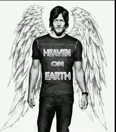 Ladies is Norman Reedus your heaven on earth?