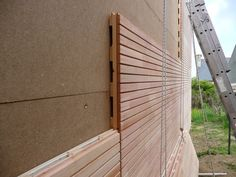 A Revolution In Building Pretty Interesting Wall & Facade Solution Decor Units is part of Facade house - Exterior Wall Cladding, House Cladding, Wood Facade, Timber Cladding, House Siding, Facade House, Wood Architecture, Architecture Details, Exterior Design
