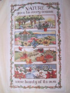 See Sally Sew-Patterns For Less - Nature Gives Cross Stitch Kit Sunset Design 13668 Chart Design Needlework, $24.95 (http://stores.seesallysew.com/nature-gives-cross-stitch-kit-sunset-design-13668-chart-design-needlework/)