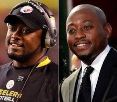 I do not like the Steelers but I swear Coach Mike Tomlin looks like Omar Epps.