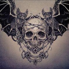 Tattoo inspiration... Vampires by Julia Vysotskaya: