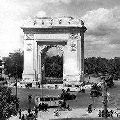 Arcul de Triumf Little Paris, Bucharest Romania, Big Ben, Life Is Good, Nostalgia, Arch, Memories, Travel, Sketch