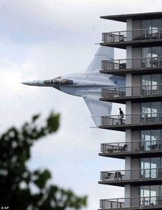 F-14 Tomcat flyby...so much for my nap...