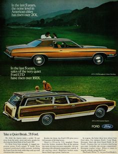 1971 Ford LTD Brougham & LTD Country Squire