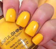 Sinful Shine Bananappeal on Lacquer: The Best Medicine!