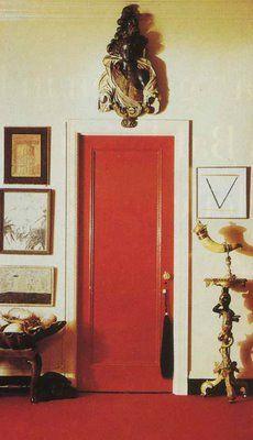 Diana Vreeland's Apartment Door