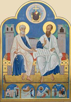 Άγιοι Πέτρος και Παύλος Πρωτοκορυφαίοι Απόστολοι  _  june 6