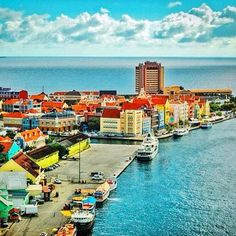 Willemstad, Curacao - Santa Barbara Beach and Golf Resort curaçao islands of the west indies Oh The Places You'll Go, Great Places, Places To Travel, Beautiful Places, Places To Visit, Dream Vacations, Vacation Spots, Southern Caribbean, Caribbean Cruise