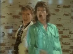 we love this music video.  <3  #davidbowie #mickjagger