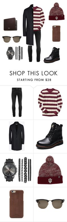 """Untitled #409"" by cuevas-stefanny ❤ liked on Polyvore featuring Alexander McQueen, Gap, Maison Margiela, Top of the World, FOSSIL, Tom Ford, Mulberry, men's fashion and menswear"