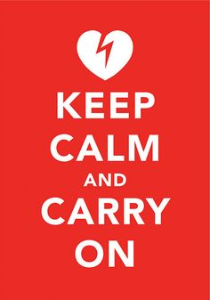 KEEP CALM IT'S ONLY LOVE by tind, via Flickr