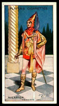 "https://flic.kr/p/h1SxUj | Cigarette Card - Hilarion, Princess Ida | Player's Cigarettes  ""Gilbert & Sullivan"" (A series of 50 issued in 1925) #35 Hilarion ~ Princess Ida"