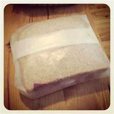 Before Baggies were invented we wrapped sandwiches in wax paper