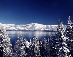 Lake Tahoe, my holiday vacation spot-- GORGEOUS :)