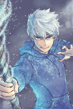 He looks edible. No joke. This is one sexy piece of fan art. [ RotG ]