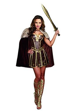 Dreamgirl Women's Sexy Warrior Costume, Victorious Beauty, Brown, Small Dreamgirl http://www.amazon.com/dp/B00TDW6I8O/ref=cm_sw_r_pi_dp_t39kwb0A7EM7J