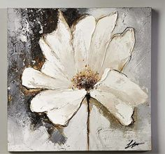 Check out this item in my Etsy shop https://www.etsy.com/listing/244796996/original-signedwhite-flower-on