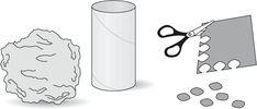 Le pommier: un bricolage pour apprendre à transformer et à combiner des formes et des matériaux différents. Téléchargez et imprimez les instructions.  #enfant #jeux #bricolage