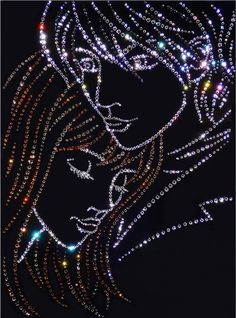 Swarovski crystals pictures - Beauty will save Dream Images, Love Images, Galaxy Painting, Dot Painting, Rhinestone Art, Beautiful Gif, Beautiful Pictures, Glitter Graphics, Button Art