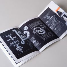Brand manifesto booklet by Liquorice Studio #LiquoriceStudio #Spread