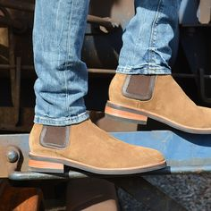 8bc4073bbfe448 Another look at Thursday Boot Co. s Duke (Chelsea) Boots.