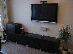 Furniture Amusing Wall Mounted Shelves Design Black Modern Living Room Colors Decor Ideas For Gray Sofa Mount TV