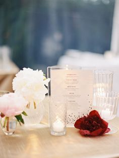 Custom Bar Menu in Lucite | Austin Wedding at The Allen House | Planning, Design, Florals and Paper Goods by The Nouveau Romantics | Photography by Taylor Lord