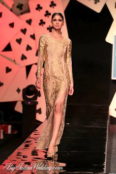 Pankaj & Nidhi Wills Lifestyle India Fashion Week 2014 - Cocktail Wear - Bigindianwedding India Fashion Week, Asian Fashion, Fashion Show, Cocktail Wear, Cocktail Gowns, House Of Card, Wills Lifestyle, Lifestyle Fashion, Indian Couture