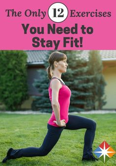 Try these exercises for your next quick and effective workout!