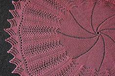 Panda Silk Lace Circular Shawl - free shawl knitting pattern from Crystal Palace Yarns