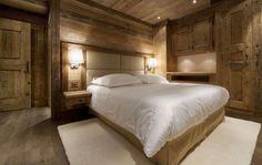 Table de chevet encastrées, cadre sur tete de lit