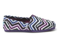 Chevoron toms I LUV these but I wish they were a different colour