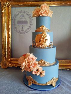 Elegant Cinderella inspired 4th birthday by Pamela Jane