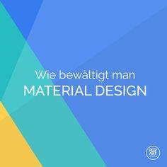 #Materialdesign wird seinen Aufschwung erleben. Erfahren Sie, wie man es bewältigen kann, und gestalten Sie Ihre Apps gleichmäßiger und googlischer. https://www.popwebdesign.de #design #webdesign #framework