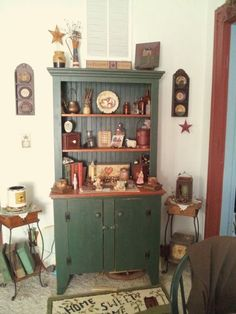 Prim Cabinet In My Dining Room