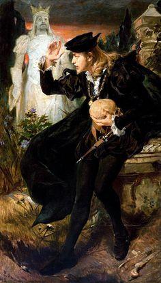 Hamlet's Vision, Pedro Américo
