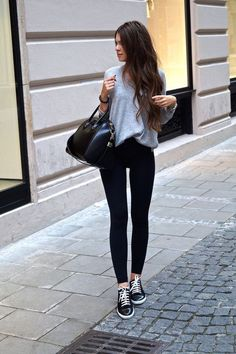 leggings outfit escuela