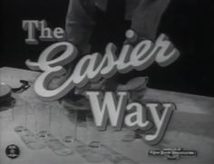 🎥 The Easier Way (1946) Jam Handy Organization for General Motors  Presents the case for motion study in the workplace and advises supervisors on how to convince skeptics that it is a good thing.  Product placement promo film. #AutomotiveHistory  https://youtu.be/35CZ85oGGnY