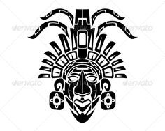 Mayan Mack Tribal Tattoo
