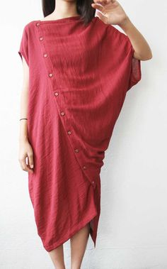 BOESSERT SCHORN / Tilted Dress Crepe