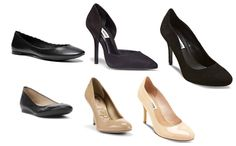 Pretty, comfy, and professional shoes you can slip into for your next interview!