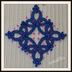 SCHEMI CHIACCHIERINO - TATTING PATTERNS