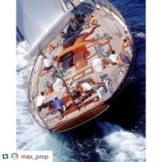 #sharemysea #Repost @max_prop  #max_prop #maxprop #sail #sailing #sailingboats…