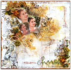 "Di's Creative Space: My First DT Layout ForThe Scrapbook StoreOctober Sketch Challenge""Cherish"""