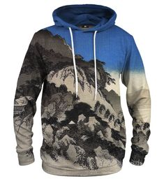 Full moon over a Mountain Landscape hoodie Material: Cotton, Polyester Cut: Unisex Origin: Made in EU Availability: Made to order Mountain Landscape, Emporio Armani, Kangaroo, Adidas Originals, Under Armour, Unisex, Hoodies, Full Moon, Sweaters