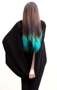 wish i was cool enough to pull off this color