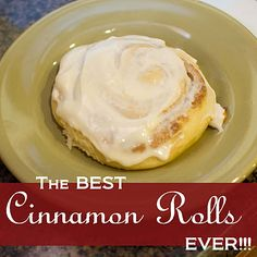The BEST Cinnamon Rolls ever!  Our make ahead Christmas morning tradition! TRY THEM!
