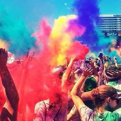 Colour makes life awesome. Instagram @wearehandsome