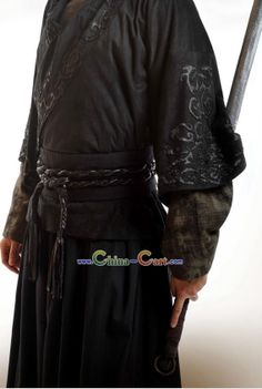 Ancient Chinese Xuan Yuan Sword Knight Costumes Complete Set