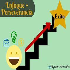 Dos armas para #emprender: Enfoque y Perseverancia